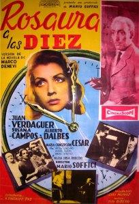 Rosaura a las diez (1958)