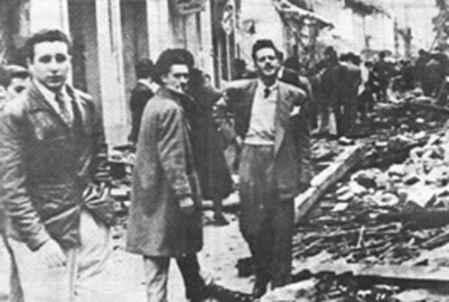 Fidel y A.Guevara creación OEA