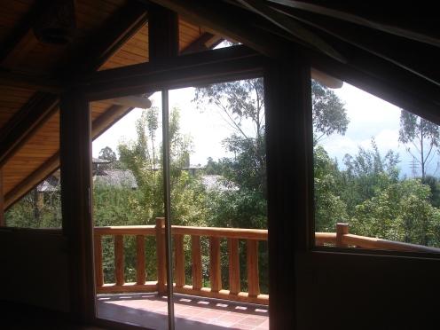 Vista desde el dormitorio principal